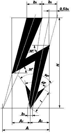 Рисунок Л.1. Графический символ электрического напряжения