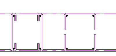Отрисовка арматурных деталей: шпилек и скоб