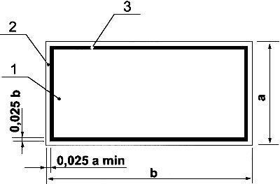Рисунок 7. Основа цветографического изображения и соотношение размеров дополнительных знаков безопасности