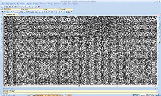 Рис. 1. Тестирование файла, содержащего миллион объектов