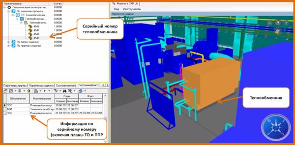 Модуль управления ремонтами оборудования