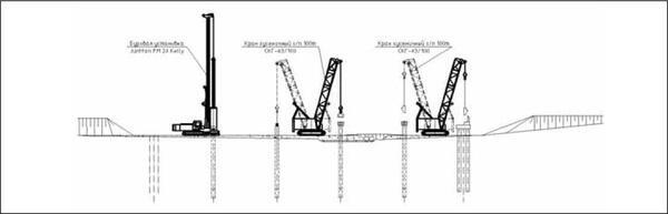 Рис. 11. Пример чертежа строительной техники, созданного с помощью ПО Стройплощадка