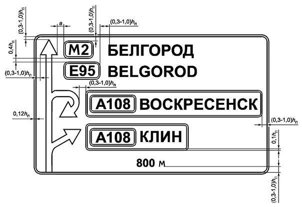 Рисунок Г.3 - Пример компоновки знака индивидуального проектирования 6.9.1