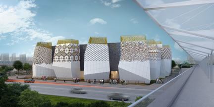 Реализованный проект павильона России на ЭКСПО-2010 в Шанхае